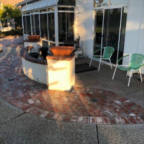 this image shows brick masonry in encinitas california