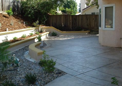 this image shows concrete wall encinitas