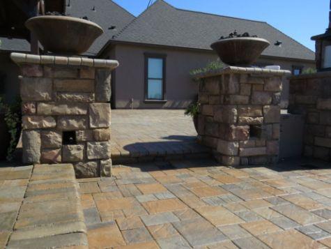 this image shows stone masonry encinitas