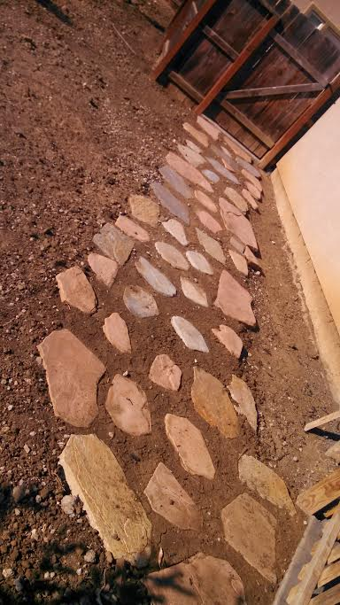 this is an image of stone pavers in Encinitas